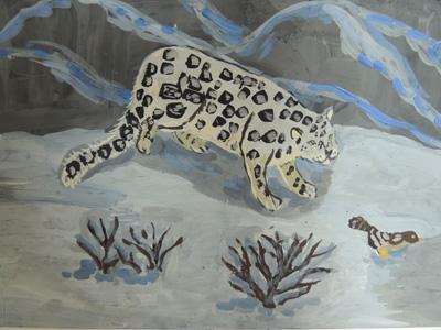 Рисунок Ивановой Насти, 10 лет, п.Шушенское